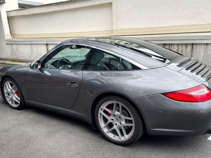 Porsche 997 PORSCHE 997 TARGA 4S 3.8 385CV BVM /1ERE MAIN / 162000 KMS /SUIVI COMPLET Gris Meteor - 12