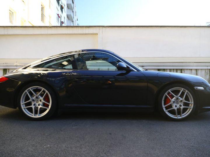Porsche 997 PORSCHE 997 TARGA 4S 3.8 385CV /PDK/ 75000 KMS Noir - 12