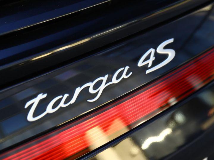 Porsche 997 PORSCHE 997 TARGA 4S 3.8 385CV /PDK/ 75000 KMS Noir - 17