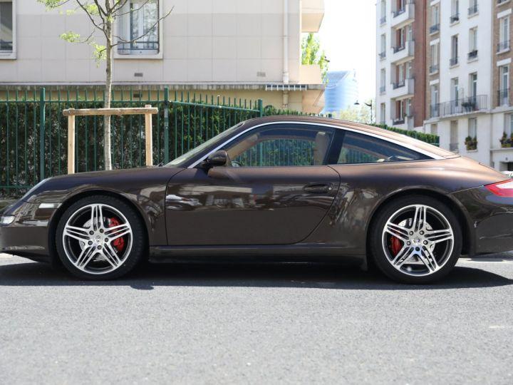 Porsche 997 PORSCHE 997 TARGA 4S TIPTRONIC S 355CV SUPERBE Macadamia - 2