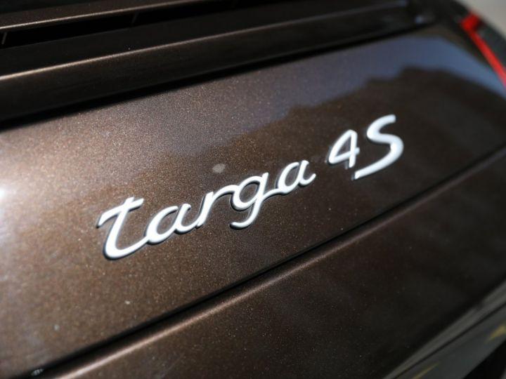 Porsche 997 PORSCHE 997 TARGA 4S TIPTRONIC S 355CV SUPERBE Macadamia - 8
