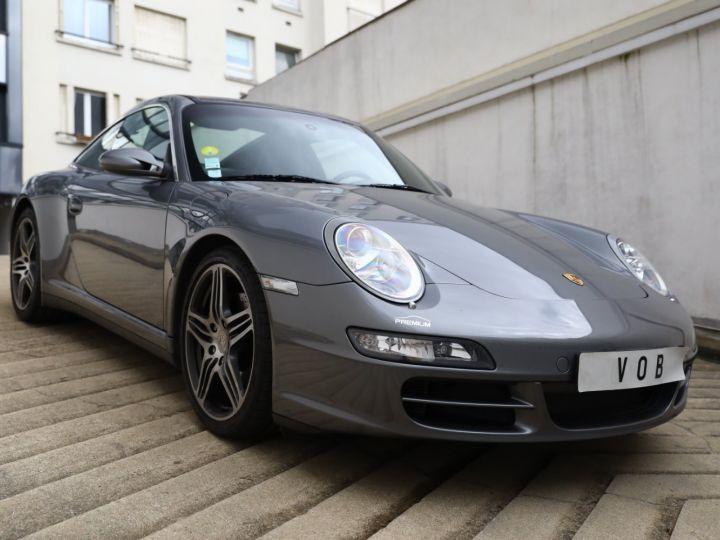 Porsche 997 PORSCHE 997 TARGA 4S TIPTRONIC S 355CV SUPERBE Gris Meteor - 5