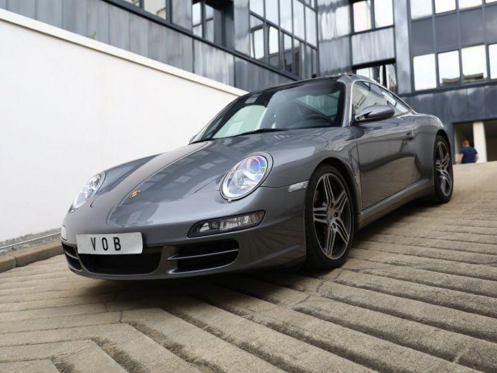 Porsche 997 PORSCHE 997 TARGA 4S TIPTRONIC S 355CV SUPERBE Gris Meteor - 1