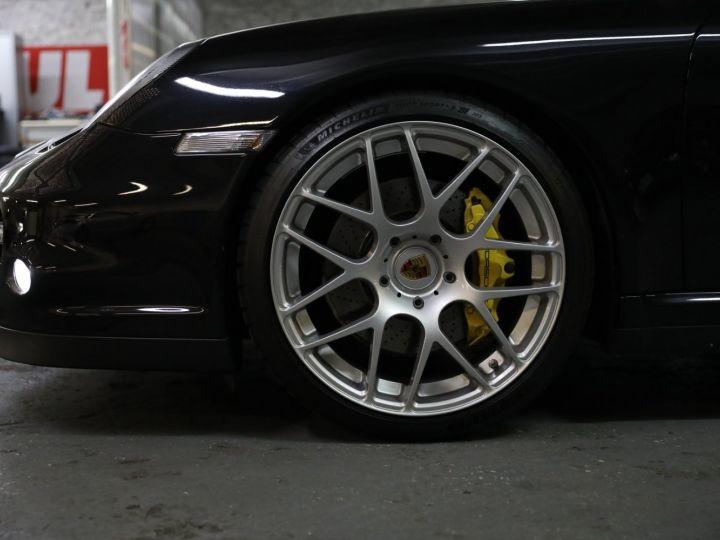 Porsche 997 PORSCHE 997 TURBO CABRIOLET PDK 500 CV FRANCAISE SUPERBE Noir - 14