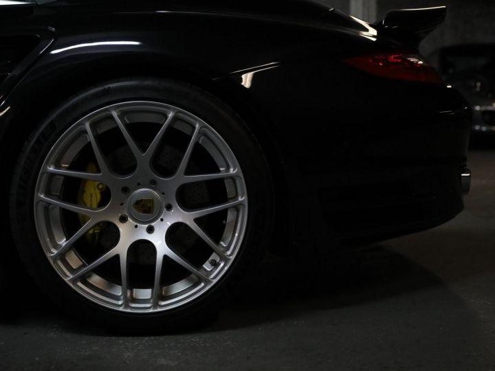 Porsche 997 PORSCHE 997 TURBO CABRIOLET PDK 500 CV FRANCAISE SUPERBE Noir - 16