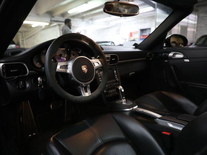 Porsche 997 PORSCHE 997 TURBO CABRIOLET PDK 500 CV FRANCAISE SUPERBE Noir - 21