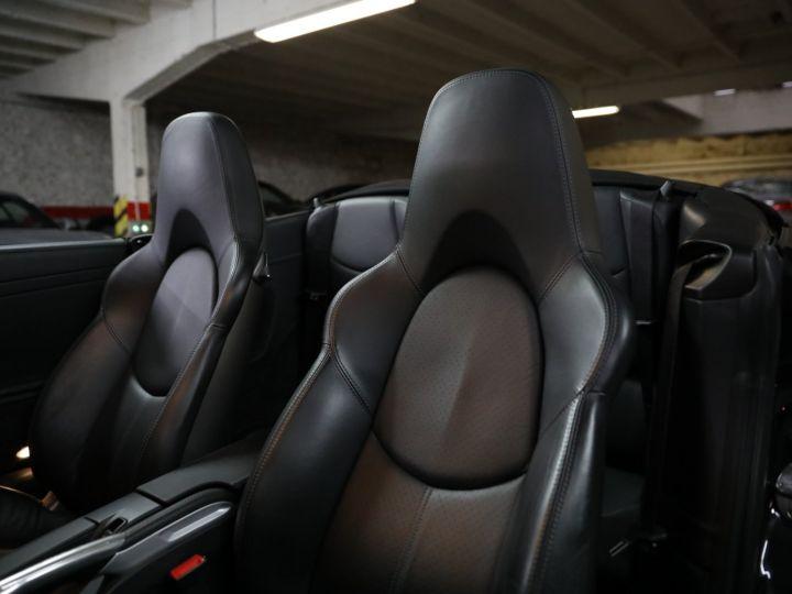 Porsche 997 PORSCHE 997 TURBO CABRIOLET PDK 500 CV FRANCAISE SUPERBE Noir - 23