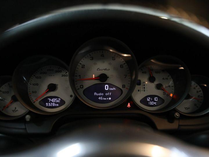 Porsche 997 PORSCHE 997 TURBO CABRIOLET PDK 500 CV FRANCAISE SUPERBE Noir - 26