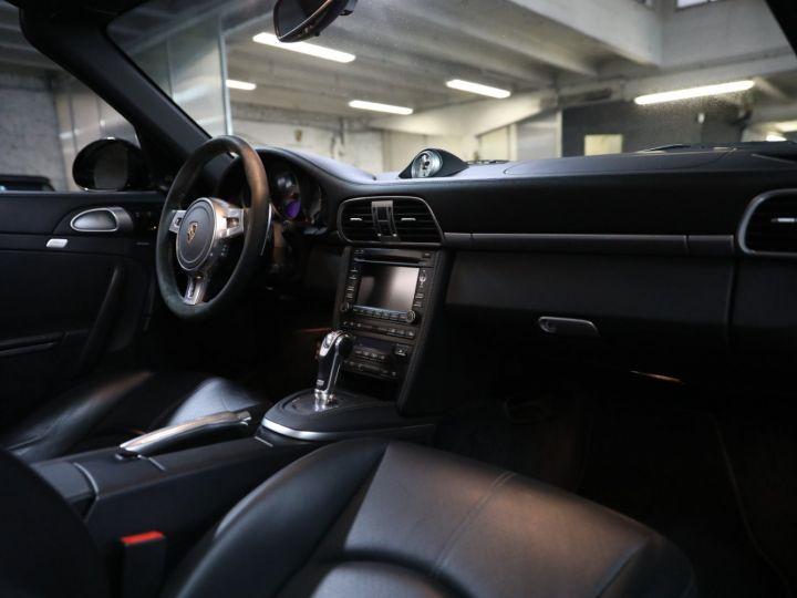 Porsche 997 PORSCHE 997 TURBO CABRIOLET PDK 500 CV FRANCAISE SUPERBE Noir - 32