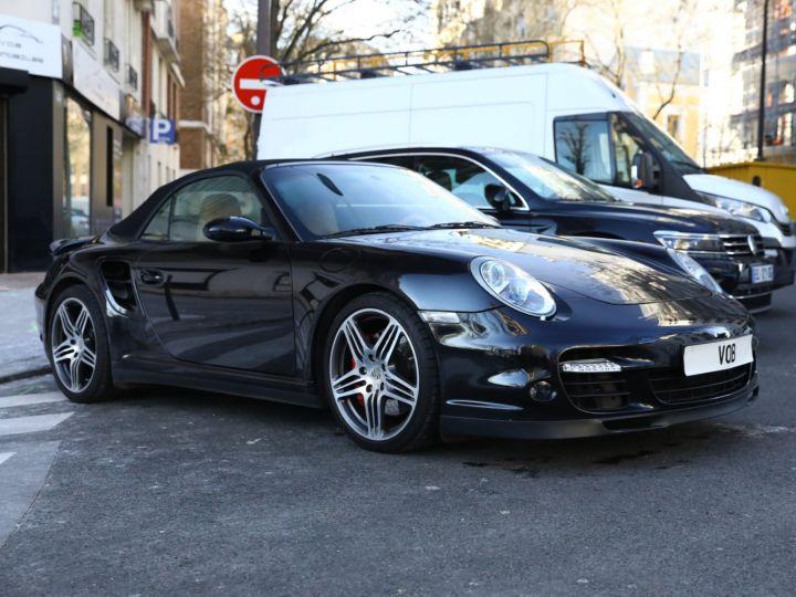 Porsche 997 PORSCHE 997 TURBO CABRIOLET TIPTRONIC / APPROVED JUSQU EN 06:2022 Noir - 5