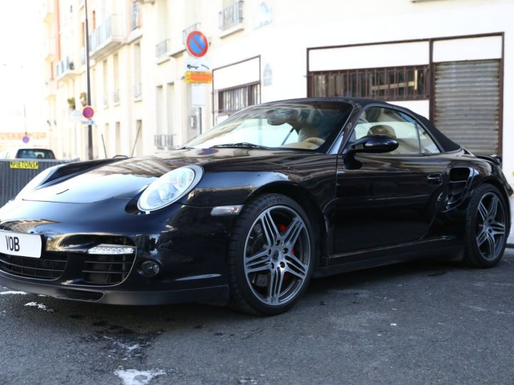 Porsche 997 PORSCHE 997 TURBO CABRIOLET TIPTRONIC / APPROVED JUSQU EN 06:2022 Noir - 1