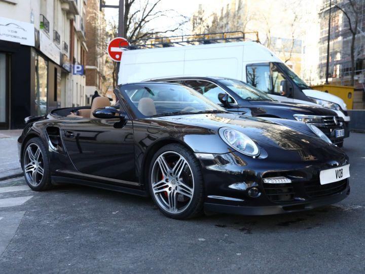 Porsche 997 PORSCHE 997 TURBO CABRIOLET TIPTRONIC / APPROVED JUSQU EN 06:2022 Noir - 7
