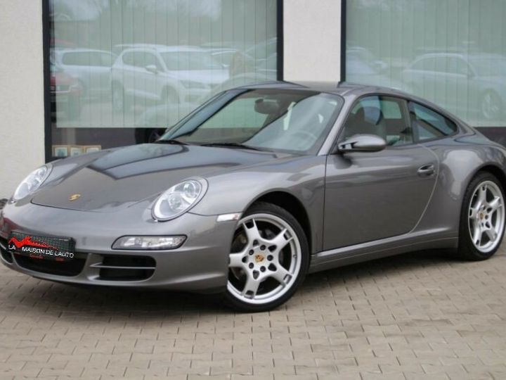 Porsche 997 Porsche Carrera 4 Bose- Xenon- 3,6l 325cv-BVA6- Carte grise + livraison + garantie 6 mois INCLUS Gris Foncé - 2
