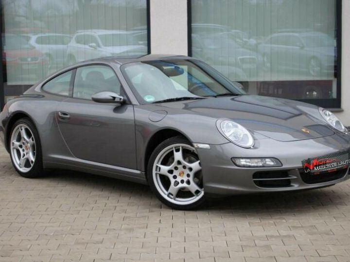 Porsche 997 Porsche Carrera 4 Bose- Xenon- 3,6l 325cv-BVA6- Carte grise + livraison + garantie 6 mois INCLUS Gris Foncé - 3