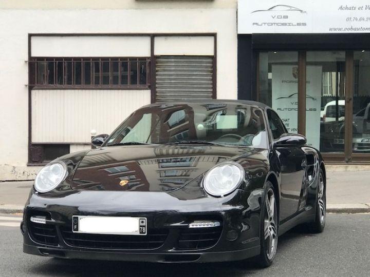 Porsche 997 TURBO BVM CABRIOLET Noir - 6