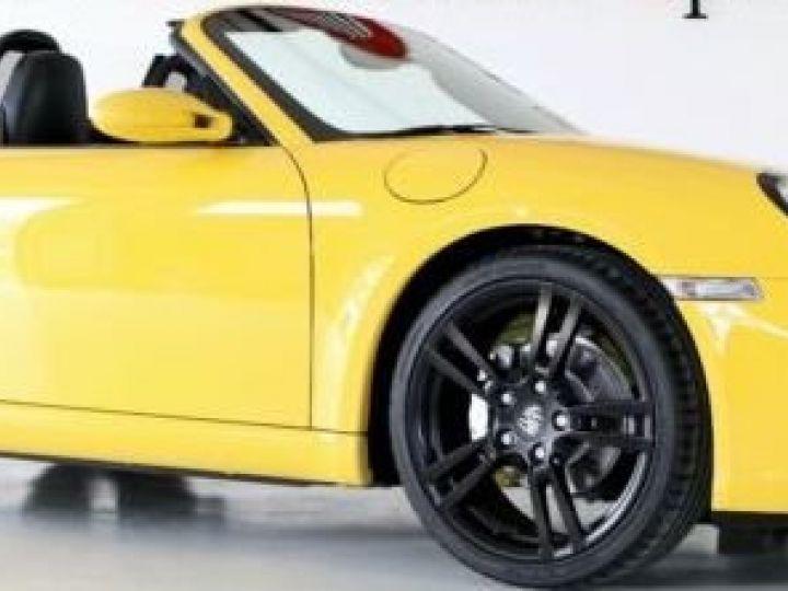 Porsche Boxster jaune - 1