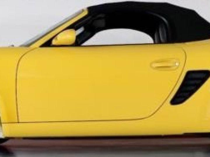 Porsche Boxster jaune - 2