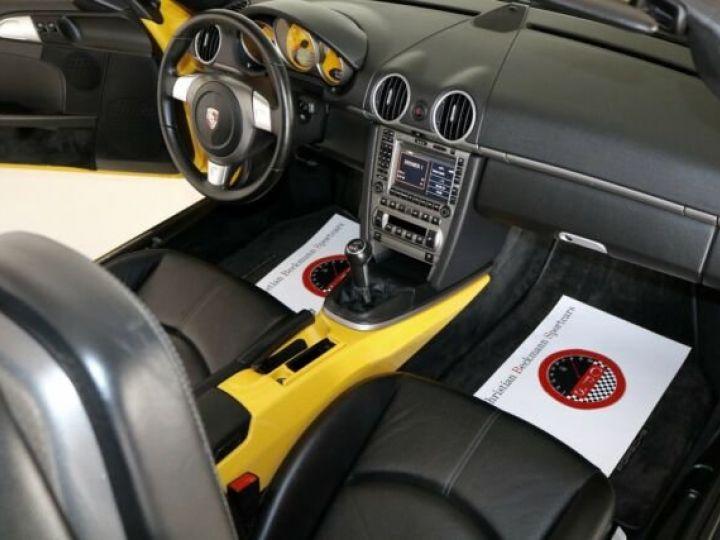 Porsche Boxster jaune - 4