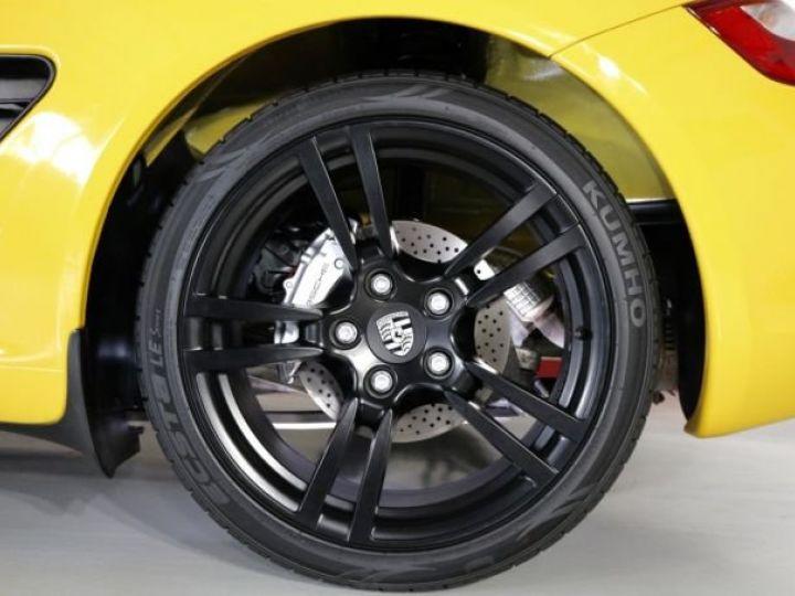 Porsche Boxster jaune - 8