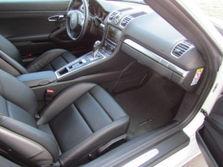 Porsche Boxster 981 2.7 265CH BLANC Occasion - 3