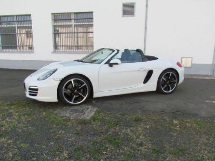 Porsche Boxster 981 2.7 265CH BLANC Occasion - 17