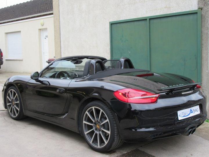 Porsche Boxster 981 2.7 265CH BLACK EDITION PDK NOIR Occasion - 3
