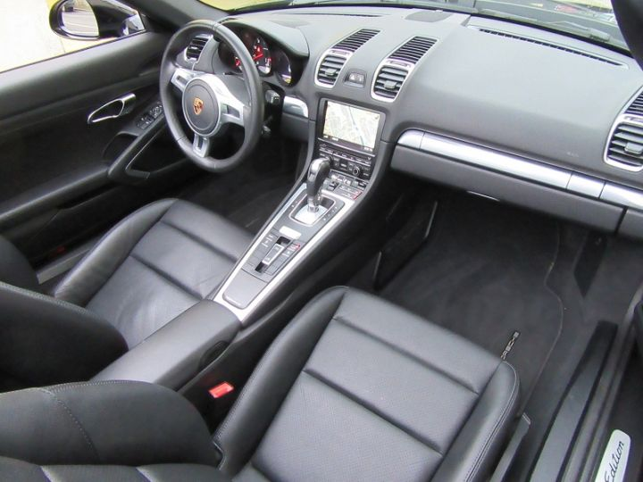 Porsche Boxster 981 2.7 265CH BLACK EDITION PDK NOIR Occasion - 9