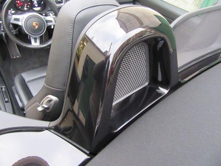 Porsche Boxster 981 2.7 265CH BLACK EDITION PDK NOIR Occasion - 12