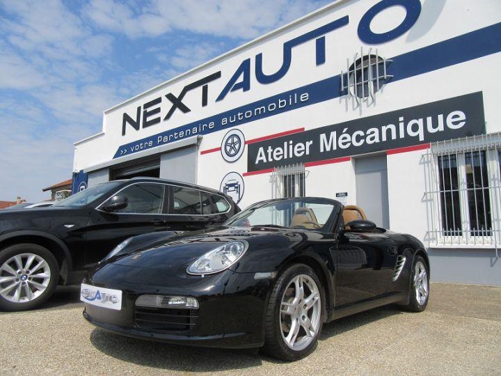 Porsche Boxster (987) 2.7 245CH Noir Occasion - 1