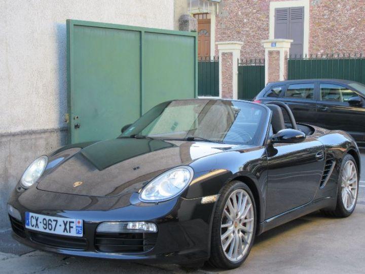 Porsche Boxster 987 3.4L 295CH NOIR Occasion - 1
