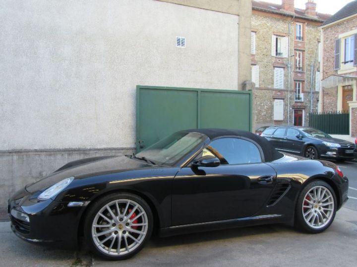Porsche Boxster 987 3.4L 295CH NOIR Occasion - 10