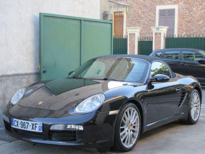 Porsche Boxster 987 3.4L 295CH NOIR Occasion - 13