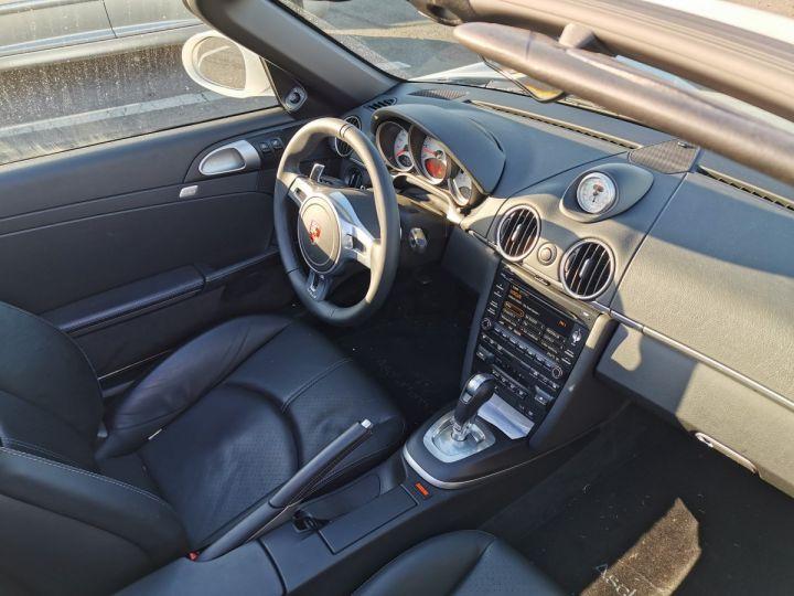 Porsche Boxster II (987) (2) 3.4 310 S PDK 2EME MAIN SUPERBE BLANC - 11