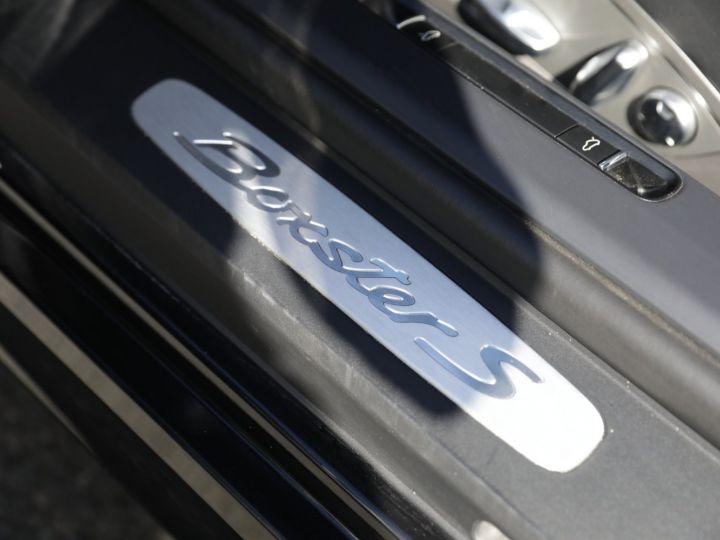 Porsche Boxster Porsche 981 Boxster S 3.4 315 Cv PDK 36000KMS Noir - 23