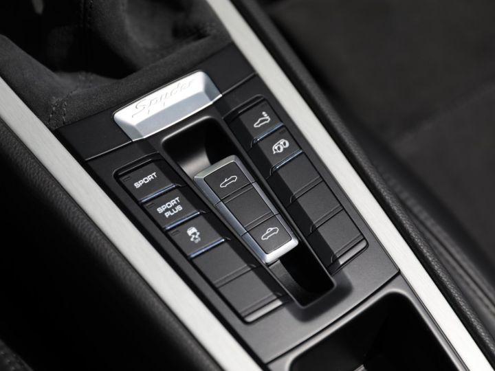Porsche Boxster PORSCHE 981 BOXSTER SPYDER EN ETAT NEUF Blanc - 23