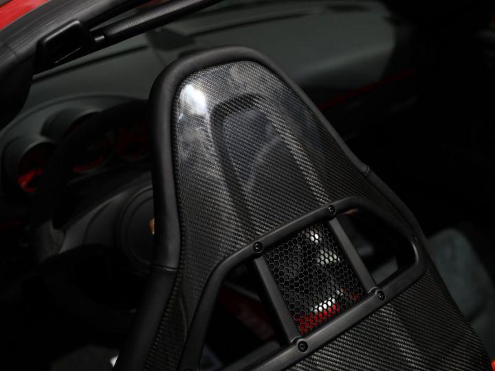 Porsche Boxster PORSCHE 987 BOXSTER SPYDER 320CV BOITE MECANIQUE AVEC 181 KMS D ORIGINE !!!! Rouge Indien - 20