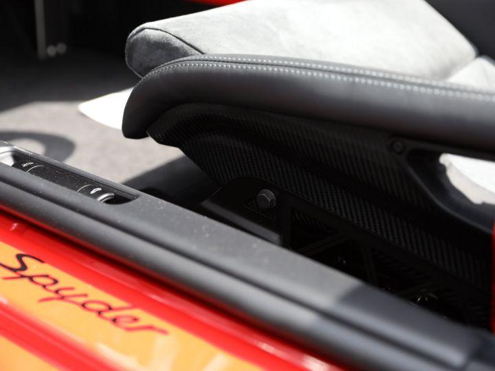 Porsche Boxster PORSCHE 987 BOXSTER SPYDER 320CV BOITE MECANIQUE AVEC 181 KMS D ORIGINE !!!! Rouge Indien - 23