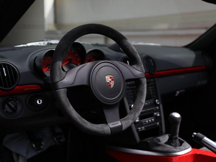 Porsche Boxster PORSCHE 987 BOXSTER SPYDER 320CV BOITE MECANIQUE AVEC 181 KMS D ORIGINE !!!! Rouge Indien - 24