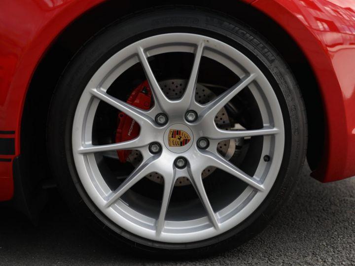 Porsche Boxster PORSCHE 987 BOXSTER SPYDER 320CV BOITE MECANIQUE AVEC 181 KMS D ORIGINE !!!! Rouge Indien - 5