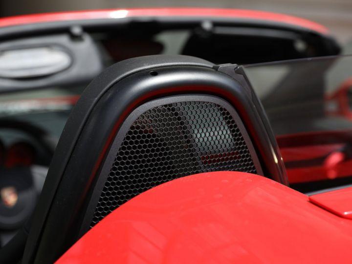 Porsche Boxster PORSCHE 987 BOXSTER SPYDER 320CV BOITE MECANIQUE AVEC 181 KMS D ORIGINE !!!! Rouge Indien - 10