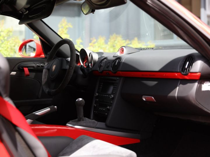 Porsche Boxster PORSCHE 987 BOXSTER SPYDER 320CV BOITE MECANIQUE AVEC 181 KMS D ORIGINE !!!! Rouge Indien - 27