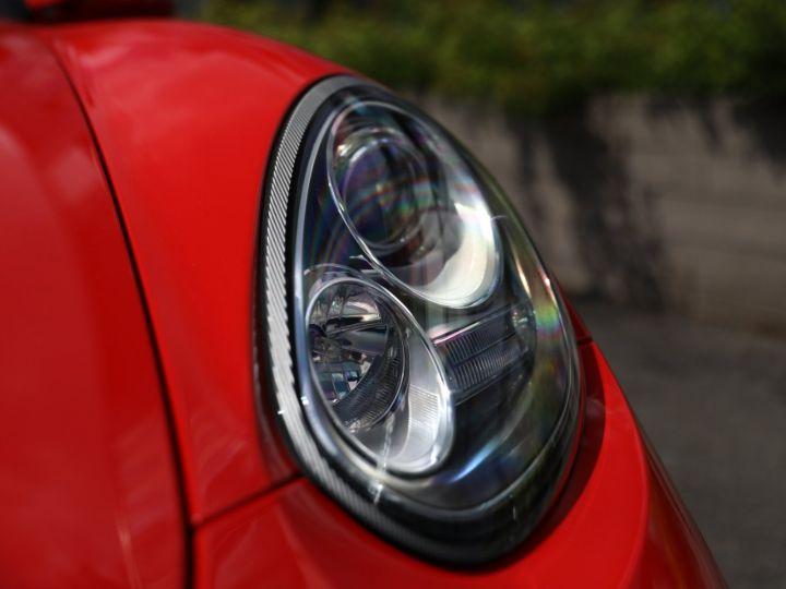 Porsche Boxster PORSCHE 987 BOXSTER SPYDER 320CV BOITE MECANIQUE AVEC 181 KMS D ORIGINE !!!! Rouge Indien - 9