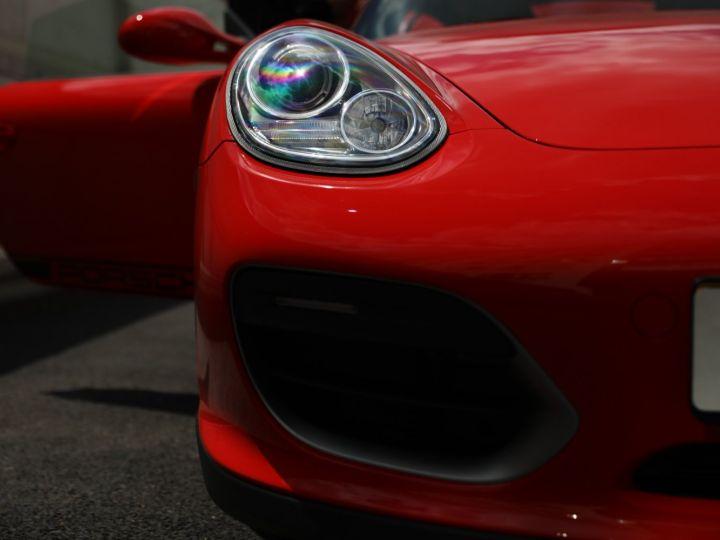 Porsche Boxster PORSCHE 987 BOXSTER SPYDER 320CV BOITE MECANIQUE AVEC 181 KMS D ORIGINE !!!! Rouge Indien - 7