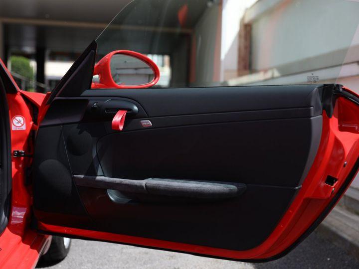 Porsche Boxster PORSCHE 987 BOXSTER SPYDER 320CV BOITE MECANIQUE AVEC 181 KMS D ORIGINE !!!! Rouge Indien - 17
