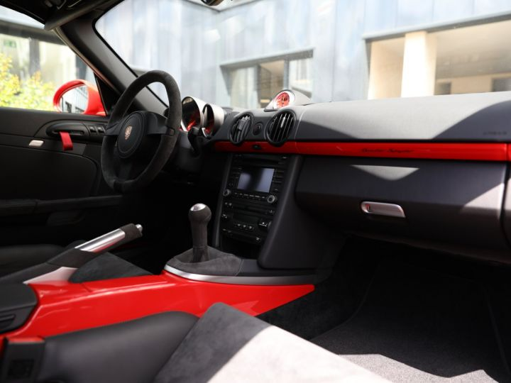 Porsche Boxster PORSCHE 987 BOXSTER SPYDER 320CV BOITE MECANIQUE AVEC 181 KMS D ORIGINE !!!! Rouge Indien - 31