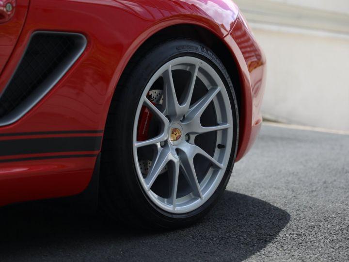 Porsche Boxster PORSCHE 987 BOXSTER SPYDER 320CV BOITE MECANIQUE AVEC 181 KMS D ORIGINE !!!! Rouge Indien - 15