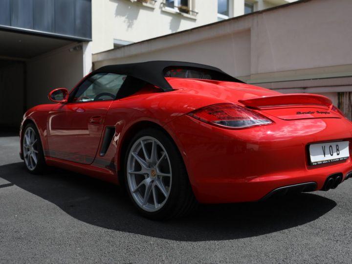Porsche Boxster PORSCHE 987 BOXSTER SPYDER 320CV BOITE MECANIQUE AVEC 181 KMS D ORIGINE !!!! Rouge Indien - 21