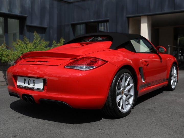 Porsche Boxster PORSCHE 987 BOXSTER SPYDER 320CV BOITE MECANIQUE AVEC 181 KMS D ORIGINE !!!! Rouge Indien - 22