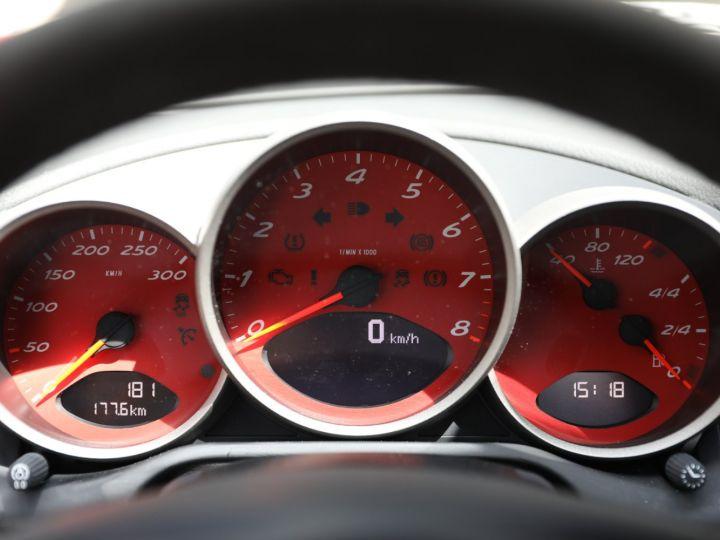 Porsche Boxster PORSCHE 987 BOXSTER SPYDER 320CV BOITE MECANIQUE AVEC 181 KMS D ORIGINE !!!! Rouge Indien - 44