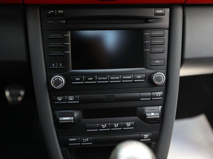Porsche Boxster PORSCHE 987 BOXSTER SPYDER 320CV BOITE MECANIQUE AVEC 181 KMS D ORIGINE !!!! Rouge Indien - 49
